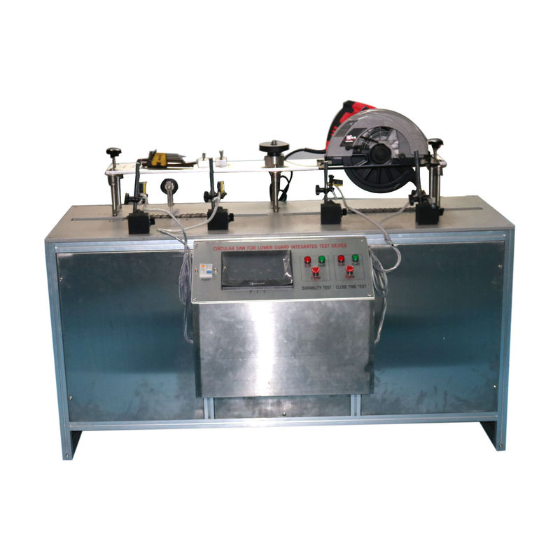 Lower Guard Integrated IEC Test Equipment IEC60745-2-5 Circular Saw