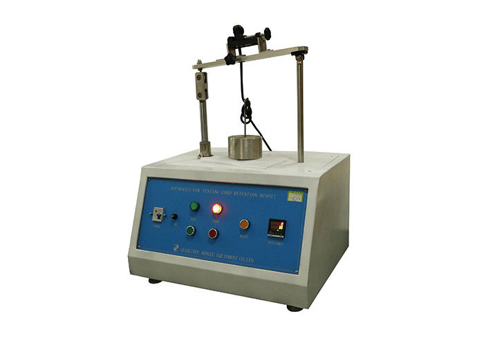 50Hz Plug Socket Tester For Cord Retention For Flexible Cables Of IEC60884-1 Figure 20 Single Station