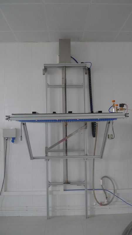 IEC60529 IPX1 IPX2 Fixed Drip Box Waterproof Testing Machine With Clean Water Filtration Unit