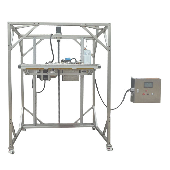 IEC 60529 Ingress Protection Test Equipment IPX1 IPX2 Movable Vertical Rain Drip Box